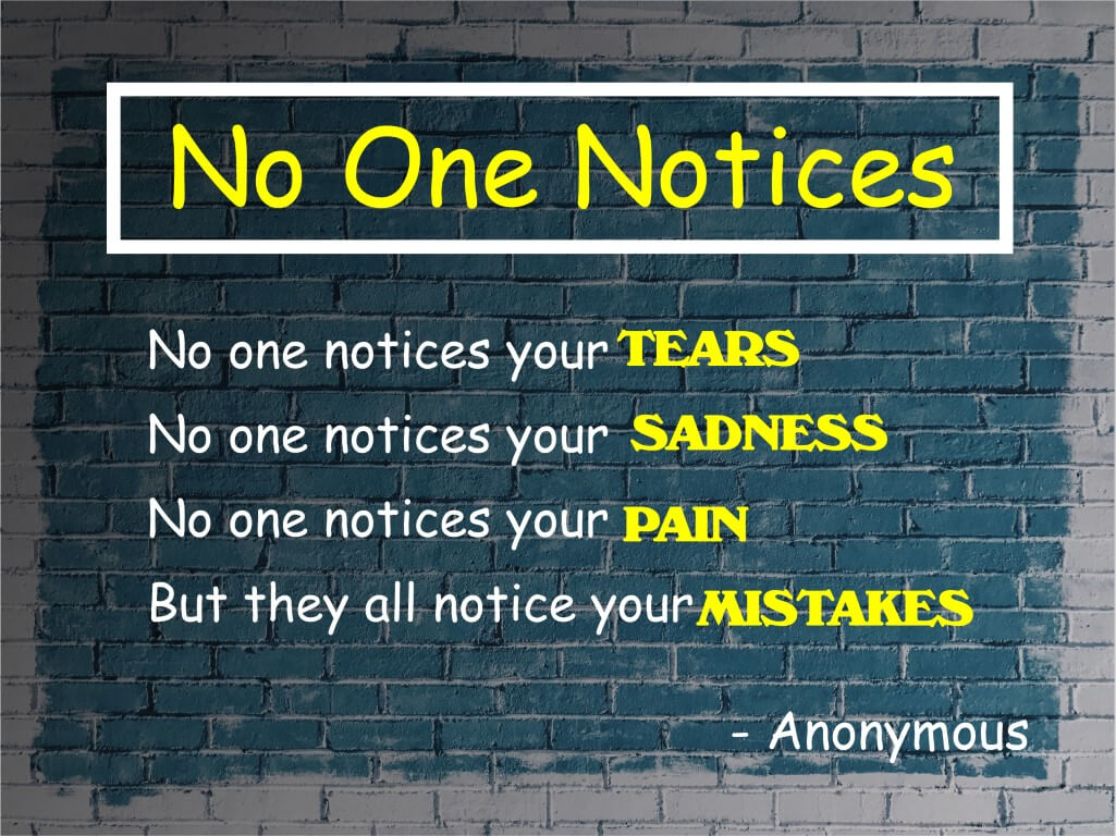 No one Notices