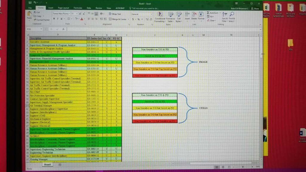 Excel Split Window